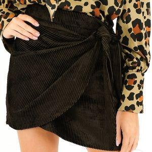 Cape Town Corduroy Wrap Skirt